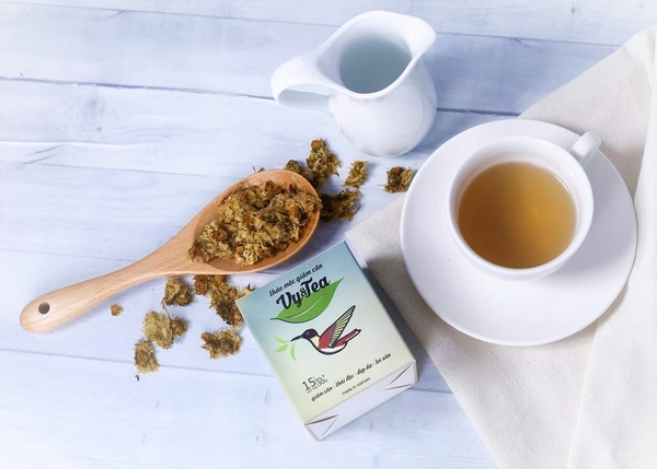 trà giảm cân thảo mộc vy tea