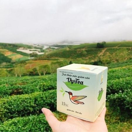 trà giảm cân vy&tea chính hãng